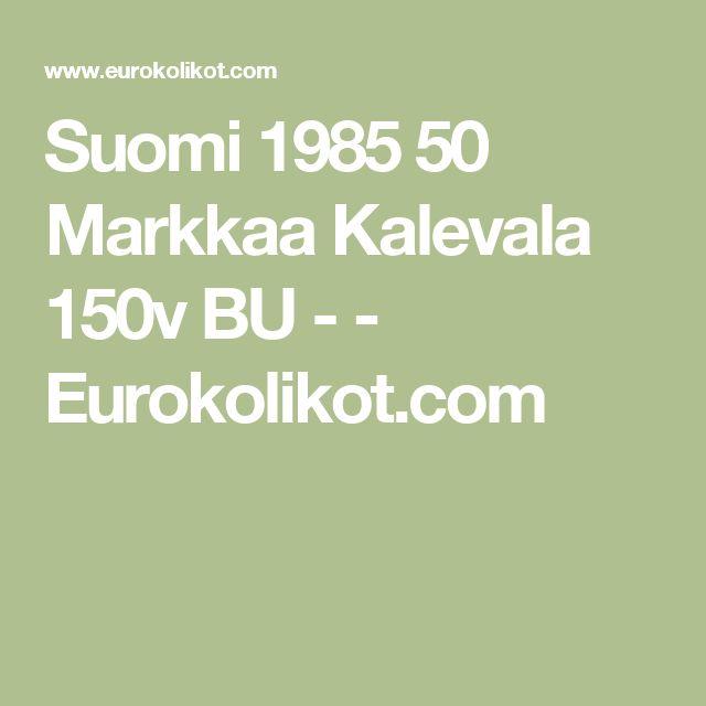Suomi 1985 50 Markkaa Kalevala 150v BU -  - Eurokolikot.com