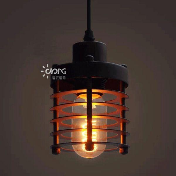Đèn thả sắt DTH0605