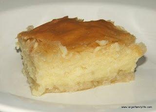 Galaktoboureko  - Greek recipes and Greek food: Greek Recipe, Food Largerfamili, Yummy Recipe, Largerfamili Recipe, Delicious Recipe, Greek Food, Greek Cuisine, Milk Pies, Food Recipe