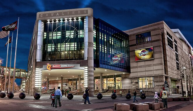 Quicken Loans Arena Guide Amenities Attractions Parking With Images Quicken Loans Arena Arena Stadium