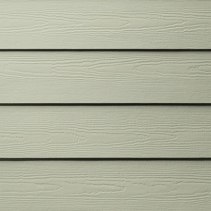 James Hardie HardiePlank Primed Soft Green Cedarmill Lap Fiber Cement Siding Panel (Actual: 0.312-in x 5.25-in x 144-in)