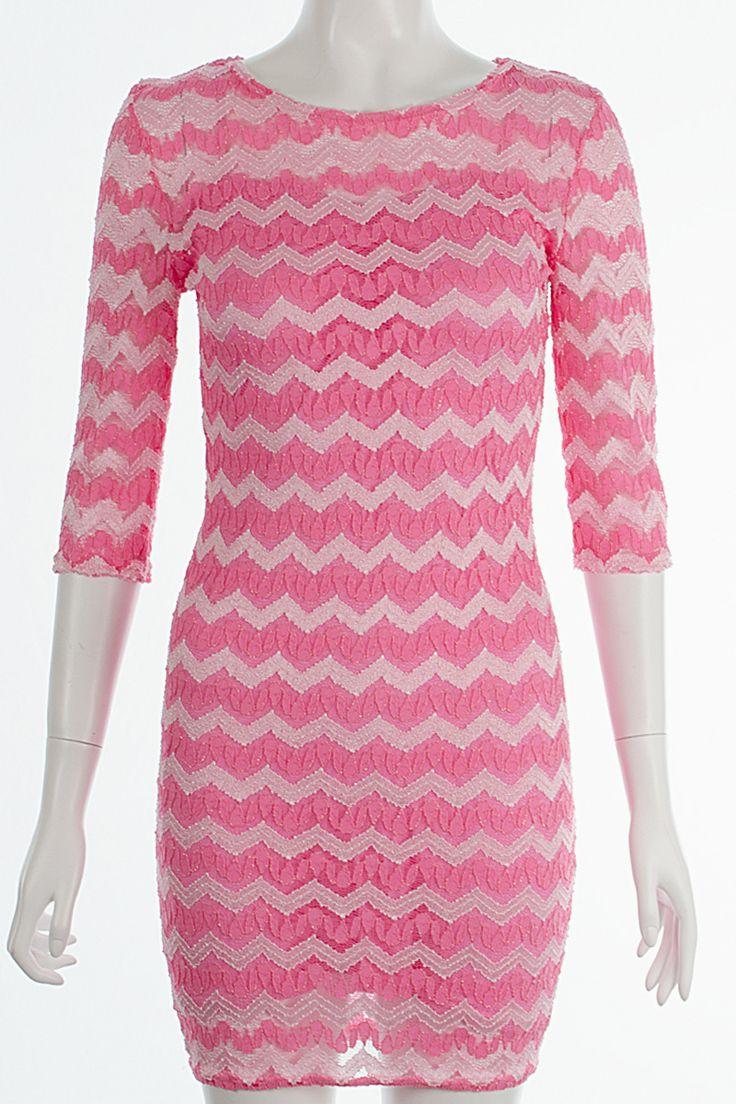 John Zack Zig Zag Lace Dress Pink Shimmer http://www.fuchia.co.uk/products/clothing/dresses/john-zack-zig-zag-lace-dress-pink-shimmer.aspx