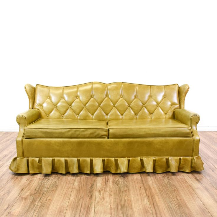 Curved Yellow Leather Sofa: 17 Best Images About SOFAS On Pinterest