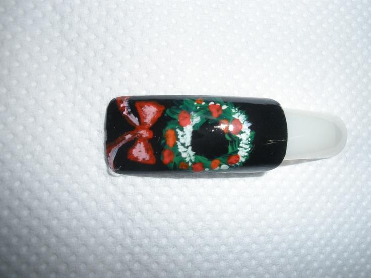 Χριστουγεννιάτικο σχέδιο για manicure_No7