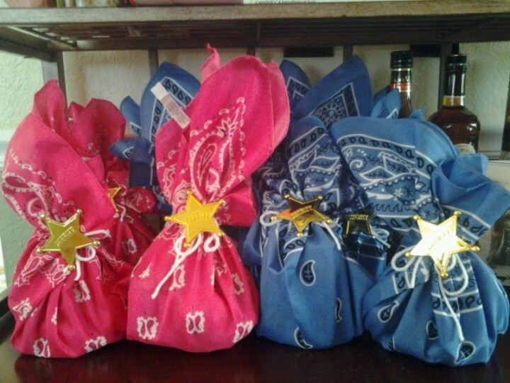 Goody Bags For A Cowgirl Party Kids Crafts Pinterest
