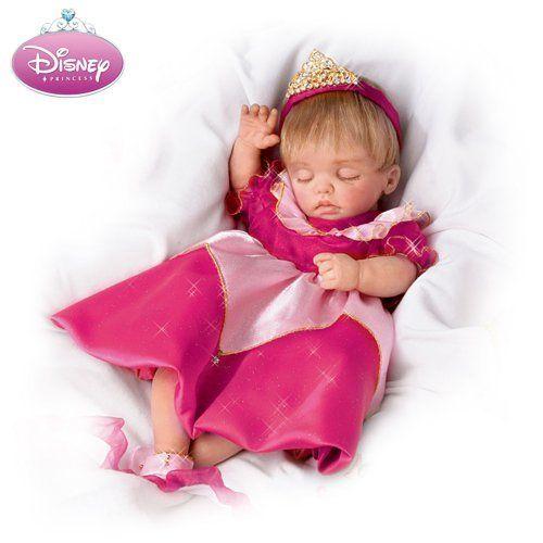 Lifelike Moving Baby Doll Wearing Disney Princess Character Dress: Always Dreams by Ashton Drake, http://www.amazon.com/dp/B00367KHTI/ref=cm_sw_r_pi_dp_.iJesb17JFVYP