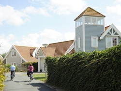 Prachtige bungalows in Zweedse stijl.