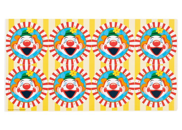 Carnival Games Large Lollipop Sticker Sheet, 88143