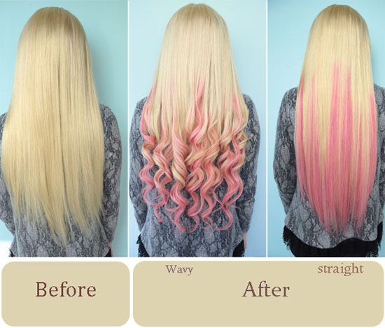 278 best before after hair extensions images on hair