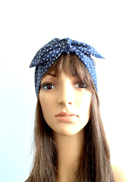 ... Wire, Wire Headbands, Aurella Blue, Headbands Turbans, Blue Stars