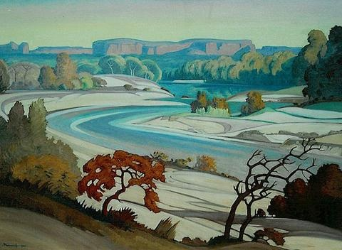 JH Pierneef - Magalakween River