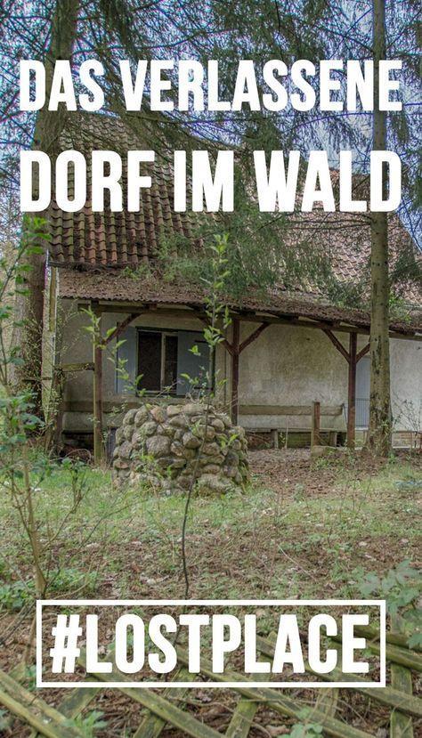 Verlassenes Geisterdorf in der Lüneburger Heide (Niedersachsen)