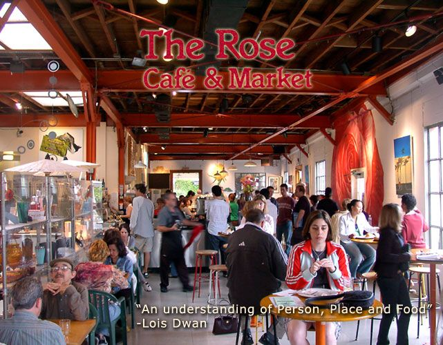Rose Cafe Restaurant Venice Beach California