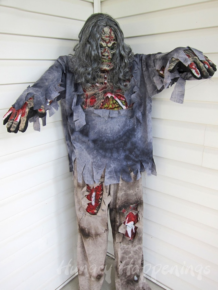 Build a Halloween prop using a costume and pvc- too easy peasy will buy costumes!!