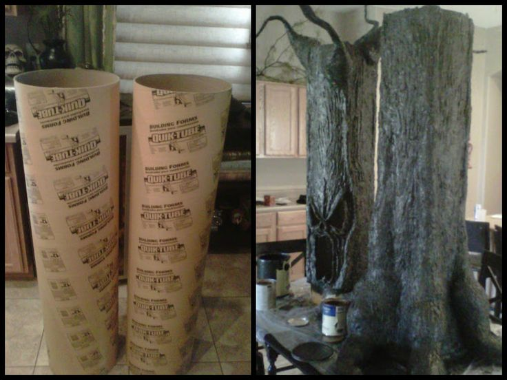 39 best images about diy halloween decorations on pinterest for Haunted woods ideas
