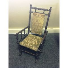 19th Century American Childs Rocking Chair