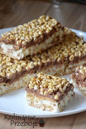 Ciasto Kinder Country bez pieczenia, szybkie ciasto bez pieczenia - Kinder Country, Ciasto Kinder Country bez pieczenia - słynny batonik w domowej wersji.
