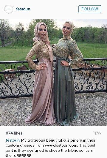 Festoun gowns