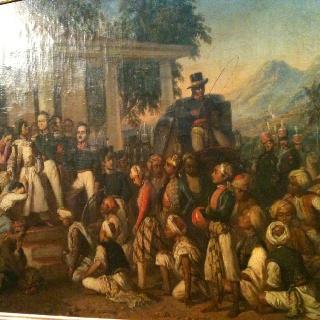 raden saleh painting at national gallery