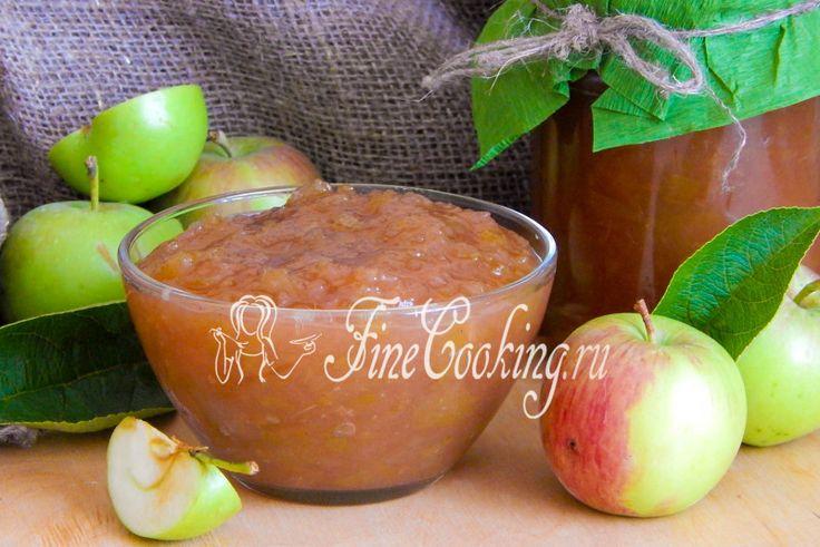 Яблочное повидло в хлебопечке - рецепт с фото