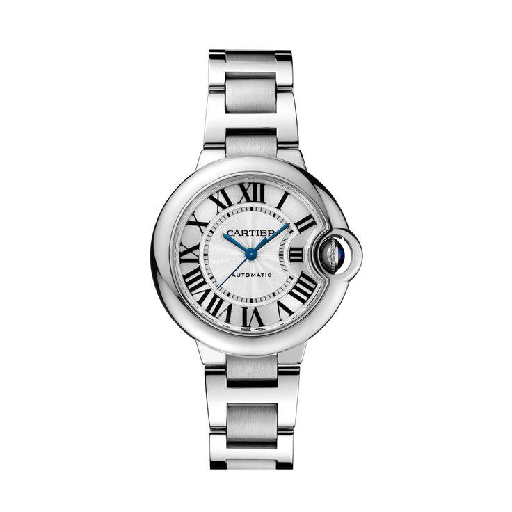 Cartier Ballon Bleu 28 MM Steel Quartz Watch ref: W69010Z4 £2930 http://www.cohenandmassias.com/product/cartier/ballon-bleu-28-mm-steel-quartz-watch-w69010z4/349/?bid=5
