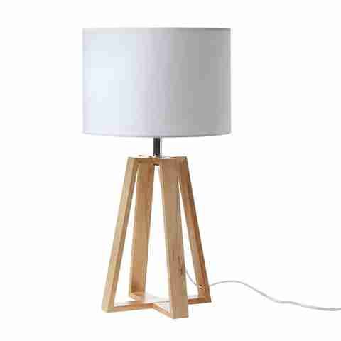 wooden Table Lamp homemaker