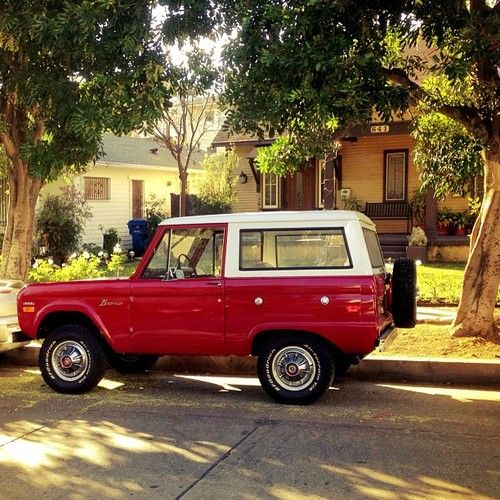 Ford Bronco...even at home in Suburbia!