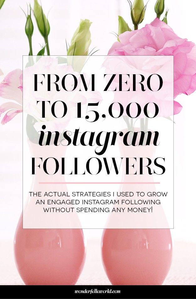 From 0 to 15,000 instagram followers: the 10 FREE strategies I used to grow an engaged instagram following this year!
