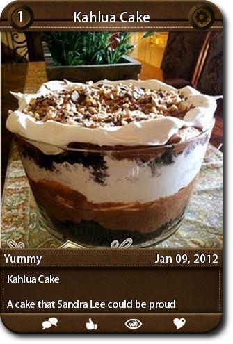 Sandra lee easy cake recipes
