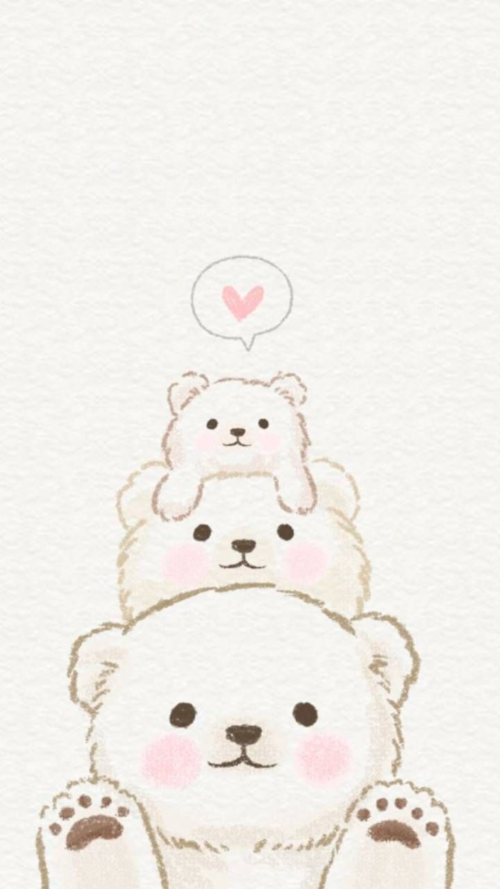 Cute Bear Wallpaper By Lovely Nature 27 46 Free On Zedge Cute Drawings Cute Doodles Cute Cartoon Wallpapers