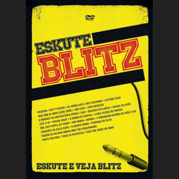 Eskute Blitz  Eskute Blitz, apresenta o melhor dos estilos: rock, pop, reggae, blues, eletrônico, as baladas de gaita e violão, as letras bem sacadas, as guitarras swingadas, o canto falado, as respostas das meninas, enfim, o típico bom-humor que sempre foi a marca de Mesquita & Cia.