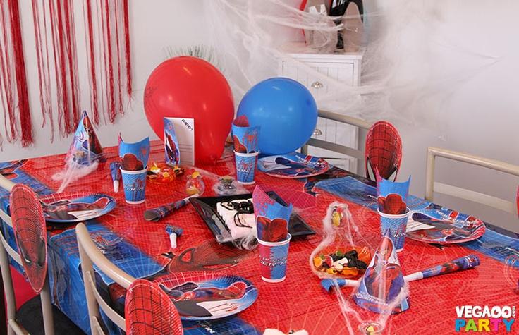 Les 18 meilleures images du tableau super heros party sur pinterest - Deco anniversaire spiderman ...
