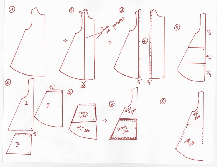 Simple Pocket Dress Tutorial