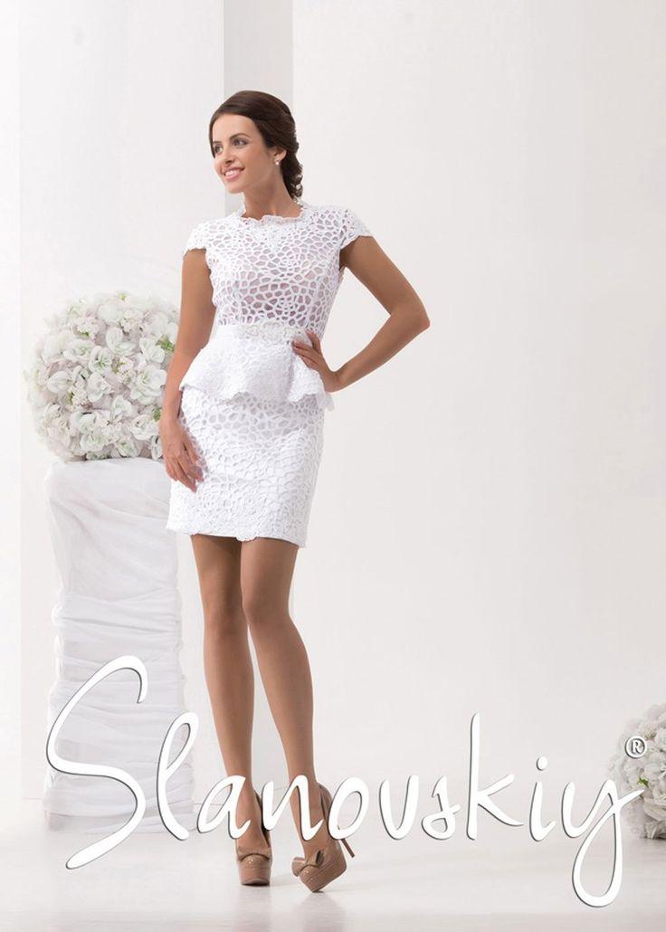 316-Krátke svadobné šaty-SL15016