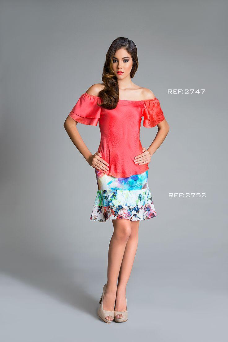 Colección Patchwork. Blusa hombros descubiertos Ref: 2747, falda corte y bolero Ref: 2752 #mpm #patchwork #details #mpmdaily #woman #romantic