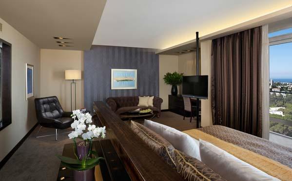 Newly refurbished Studio Suite at the Dan Carmel Haifa, Israel