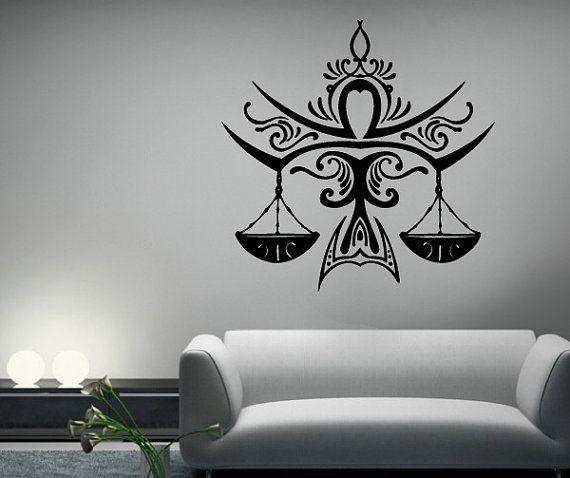 Astrology Star Sign Libra Symbol Vinyl by TheVinylStickerShop, $8.00
