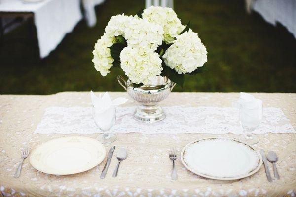 déco de table mariage dentelle  Dentelle  Pinterest