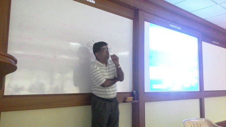 Six Sigma certification for ASB Coimbatore MBA students  Dr. Ram R. Bishu, Professor from University of Nebraska – Lincoln, also the Education Chair, American Society for Quality conducted training workshop for 2nd year MBA students on Six Sigma Yellow belt at ASB, Coimbatore campus.