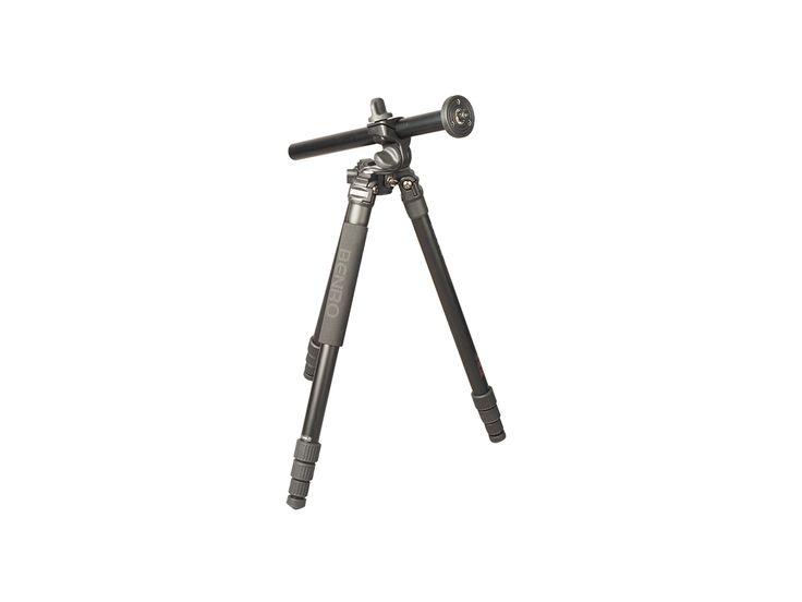 Stabilt trebensstativ med fällbar mittpelare vilket gör att stativet lämpar sig väldigt bra för bland annat makrofotograferin...