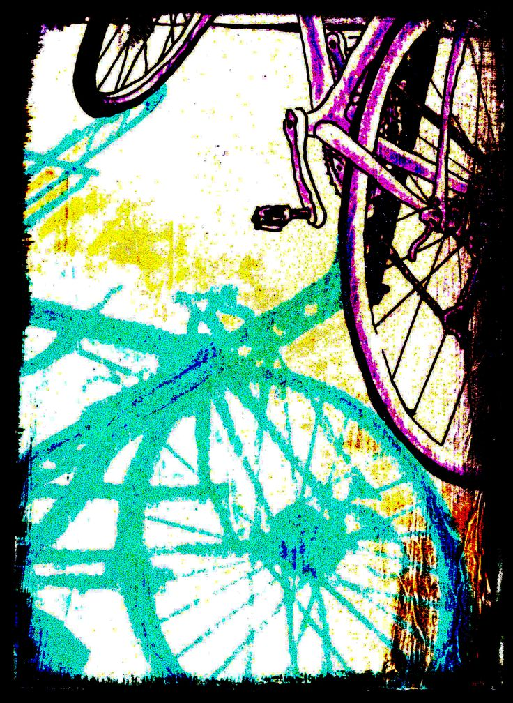 Risultati immagini per bicycle art