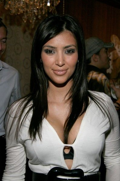 Kim Kardashian 2006   Kim Kardashian Kimberly Kardashian poses in the W VIP lounge during ...