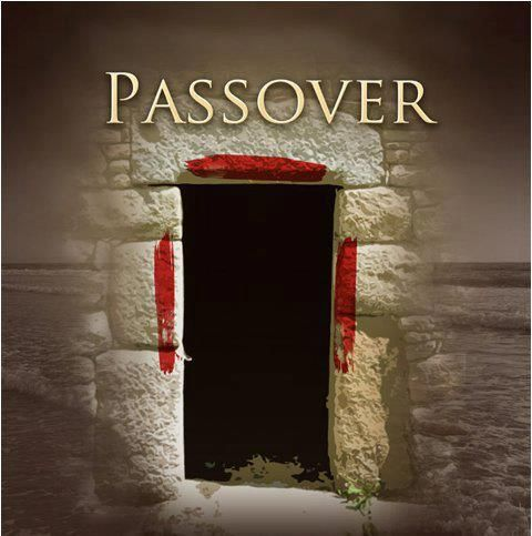 Passover: The blood of the perfect LAMB, forms a cross on the doorway of our hearts