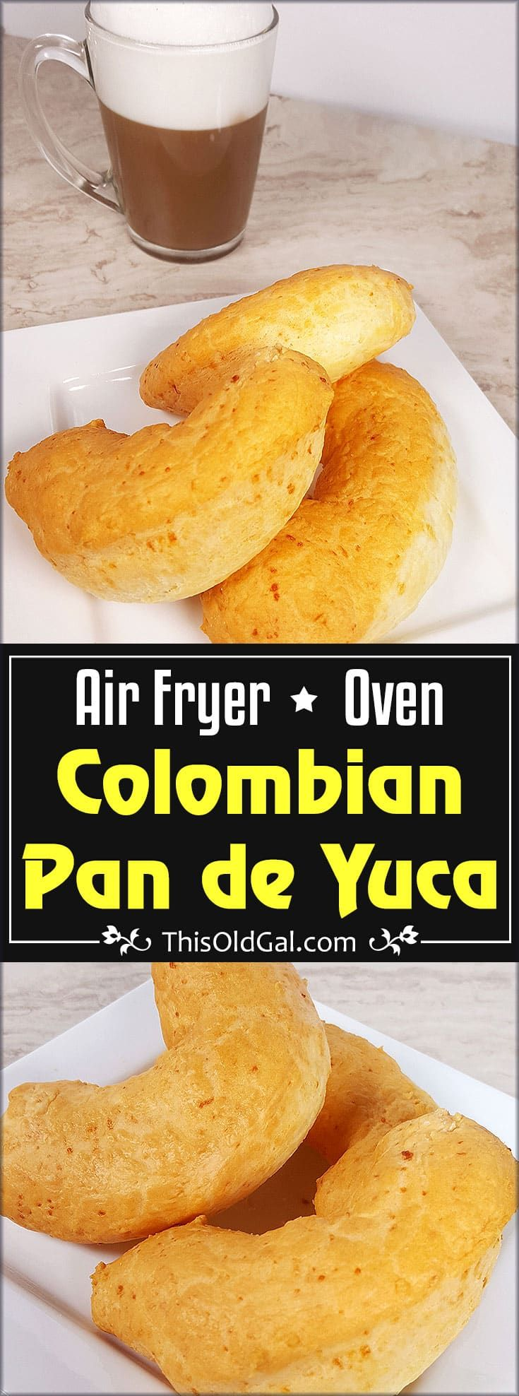 Colombian Pan de Yuca, is a puffy, airy, cheesy and somewhat chewy bread, made with Tapioca Four/Starch and cheese from Southern Colombia or Ecuador.. via @thisoldgalcooks