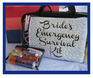Chaos and Gloss: 60 Items Every Bride Needs In Her Survival Kit