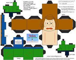 X-Mas18.5: Peppermint Patty Reichardt Cubee by TheFlyingDachshund