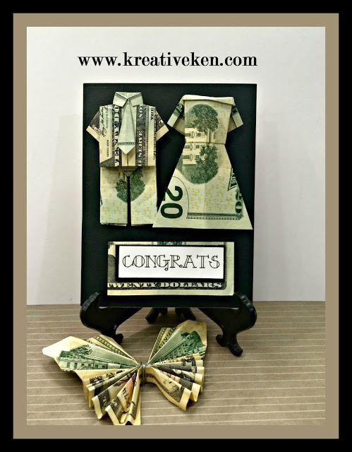 Ken's Kreations: WEDDING MONEY CARD