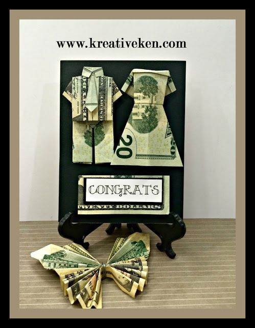 12 Best Images About Folded Money Gifts On Pinterest