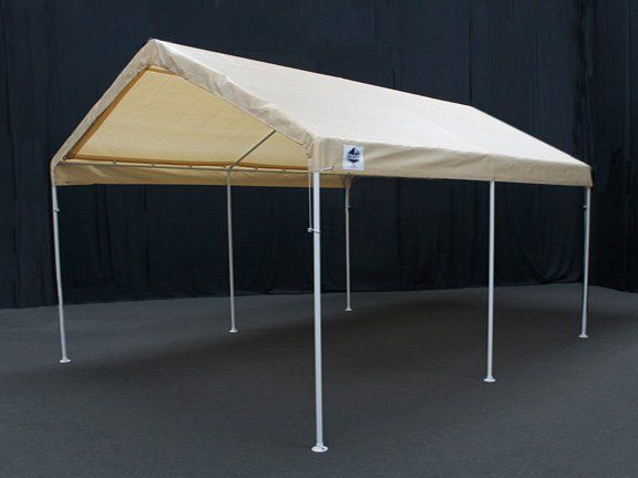This economical 6-leg 10 x 20 Canopy offers quick, portable shade and protection from inclement weather. Great to pack up and take camping, hunting, or hosting a gathering. The Universal Canopy features a powder coated steel Frame and 180 GSM patented drawstring cover.