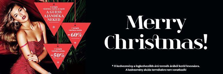 Kedvezményeinkkel kívánunk boldog karácsonyt.  http://www.loveandluxury.hu/hu/